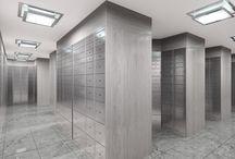 Safety deposit lockers / Manufacturer of safety deposit lockers