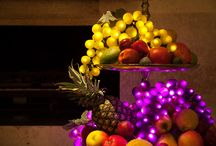 Dinner lighting / Plumptious bunches of grapes to light up your fruit bowls and dinner parties.
