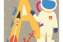 Alphabet / Alphabet Illustrations / by happy happy art collective