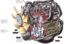 diesel trucks and motors