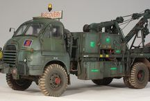 1/35 scale recovery trucks