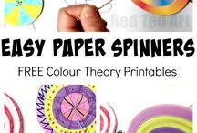 Kreisel/Paper Spinner