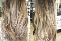ombre cold blonde