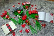 Walentynki / Walentynki,  tulipany