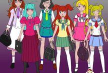 School Girl Dress (v2 & v3)