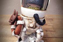 """Await Rescue - Custom Space Crab"" Figurine (2015)"