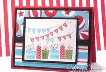 Stampin Up - Patterned Party / by Whitney Ulsas