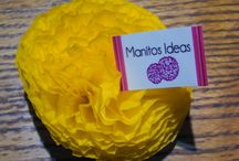 Flores 10 cms / Flores 10 cms $ 5.000 los pedidos se hacen en manitosideas@gmail.com con anticipación de cinco días hábiles Los colores los elige el cliente/a
