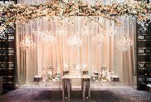 Modern All-White Wedding