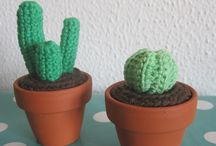 Kaktus hæklet