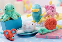 little crochet amigurumi animals