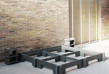 steckmich Bett / Möbel zum stecken - einfach wie Lego.
