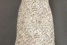 Vintage Gray Women Fashion / Gray gowns and dresses from the 20's - 60's!