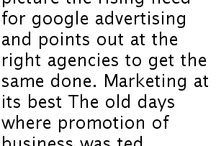 A Growing Need For Google Advertising