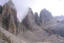 Sentiero delle Farangole sulle Pale di San Martino