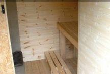 build a sauna