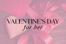 Valentines Gifts For Her / Jewelry staples that are sure to win you points on Valentine's day. Woo her with romantic pieces that sparkle beautifully in candle light. / by Ice.com - Jewelry & Diamonds