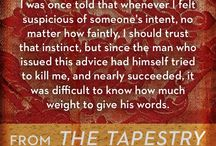 Quotes from my novel THE TAPESTRY / Enjoy these selections from the third novel in my historical thriller trilogy, taking place in the reign of Henry VIII. To learn more, go to www.nancybilyeau.com