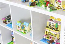 Lego storage and more