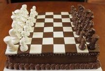 Eatable chessboard
