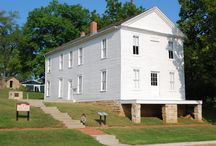 Constitution Hall State Historic Site / At this National Historic Landmark in Lecompton, the nation's eyes were fixed here in 1857 waiting to see what kind of constitution would be drafted and whether Kansas would join the Union as a free or slave state. Learn more about James Lane, the proslavery and free-state forces in the area, and other stories of territorial Kansas.