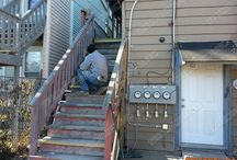 Wrigleyville Porch Project / Some before-and-after photos of a porch project in Wrigleyville, Chicago