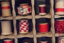 Wooden cotton reel ideas