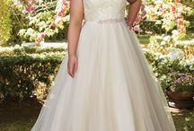Chic at Any Size / Our favorite wedding dresses, proportionately tailored to fit those curves.