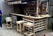 meja bar/kecil