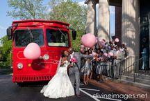 Transportation / Transporatation- Trolleys and classic wedding cars