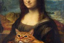 Cat Art ! / Les plus beau tableaux avec des chats. Que demander de plus ?