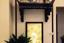 Bàn thờ treo tường hiện đại, bàn thờ treo tường nhà chung cư / Trong mỗi gia đình người Việt thì góc thờ cúng luôn là không bao giờ có thể thiếu được. Đồ Gỗ Kiến Trúc là đơn vị uy tín hàng đầu tại Hà Nội trong lĩnh vực thiết kế, sản xuất các sản phẩm bàn thờ hiện đại, tủ thờ hiện đại, bàn thờ cho nhà chung cư. LH 090 426 66 58