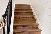 couvrir escalier avec palettes