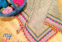 Shawls and poncho's