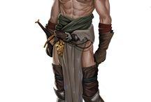 Fantasy characters / Fantasy characters and character design