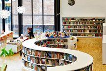 Kitaplık / Kütüphane / Library / Kitap Kitaplık Kütüphane Mimarisi