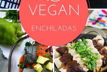 Veganistische enchiladas