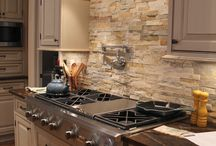 Interior ideas of natural stone