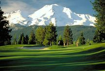 Mt. Shasta: Golfing / Enjoy a day on the green at one of several beautiful golf courses. All feature spectacular views and an enjoyable challenge to players of  all skill levels.