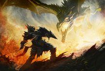 Elder Scrolls Artwork / The stunning artwork of The Elder Scrolls Series in one place.
