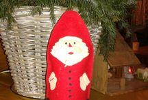 kerst (knutsels en verhalen) / Knutselen en handwerken over kerst.