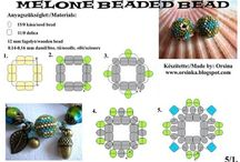 Beaded berry tutorials