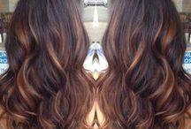 Cool hair colours / Hair