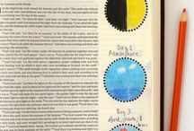 Journaling Art / Bible journaling and word art ideas. / by LaVonne Long