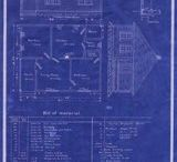 Blueprints / We love 'em and print 'em! We found all types of blueprints all over Pinterest... what do you think?