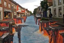 Arte callejero, 3D y mas!!!....