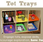Learning trays