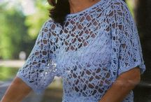 blusas crochet dama
