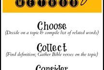Student - Study - Self Help / Studying Ideas, Bible Study, Study Methods, Study Help