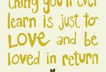 Words of Wisdom  / by Kensi Sauley